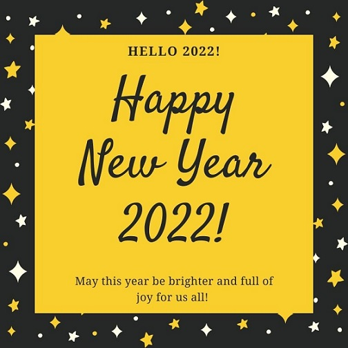 Happy New Year 2022 Advance Images Download