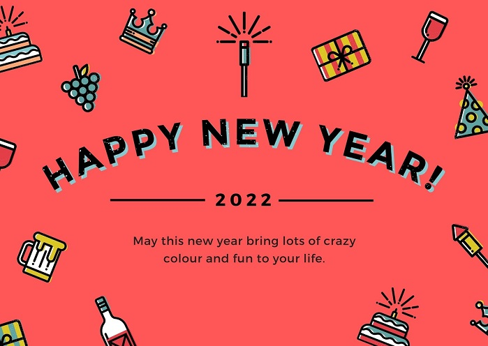 Happy New Year 2022 Advance Images, Pictures & Wallpapers