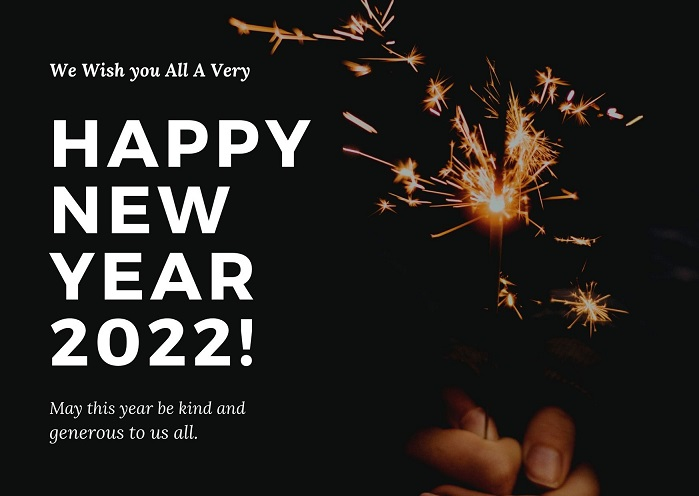 Happy New Year 2022 Advance Images for Family