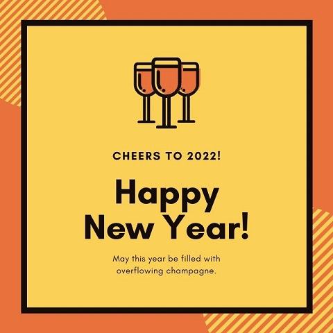 Happy New Year 2022 Advance Images