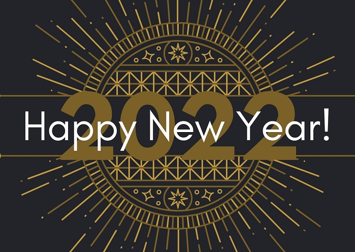 Happy New Year 2022 Background Images Download