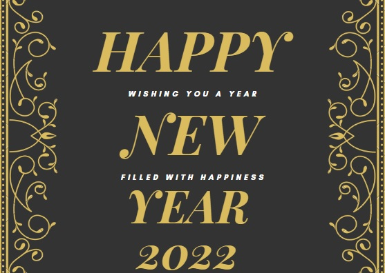 Happy New Year 2022 Beautiful Wallpapers Download