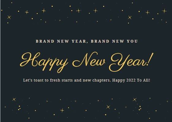 Happy New Year 2022 Beautiful Wallpapers for Family