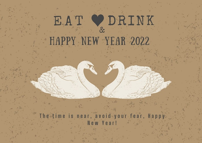 Happy New Year 2022 Eve Greeting Cards For Friends