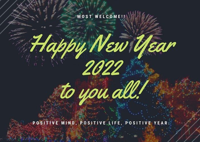 Happy New Year 2022 Wishes Pictures for Family