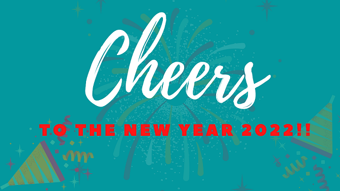 Happy New Year Eve 2022 Greeting Cards