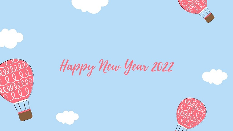 New Year Eve 2022 Greeting Cards