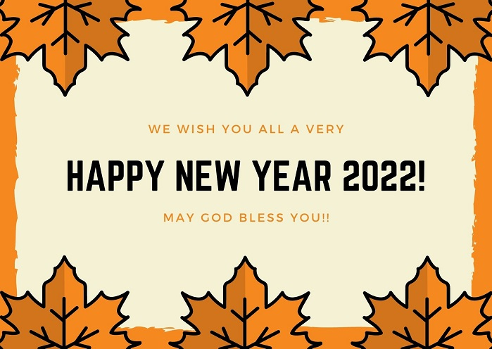 Happy New Year 2022 Messages Wallpapers