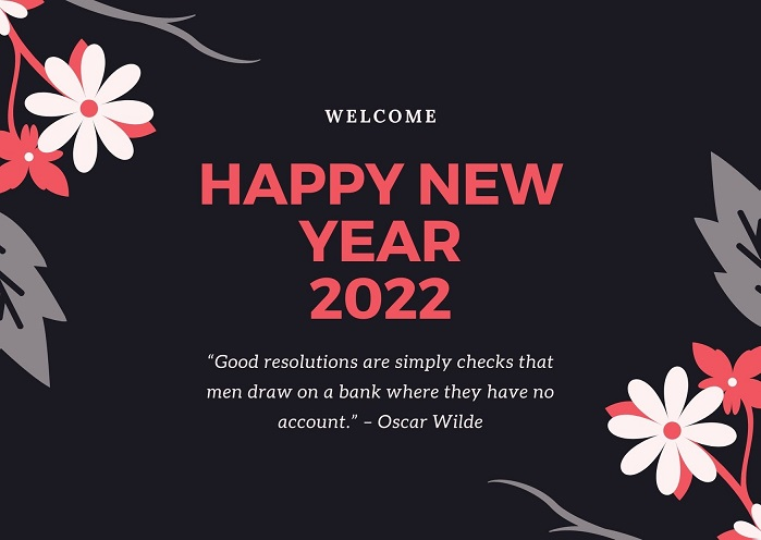 Happy New Year 2022 Quotes Images for Family