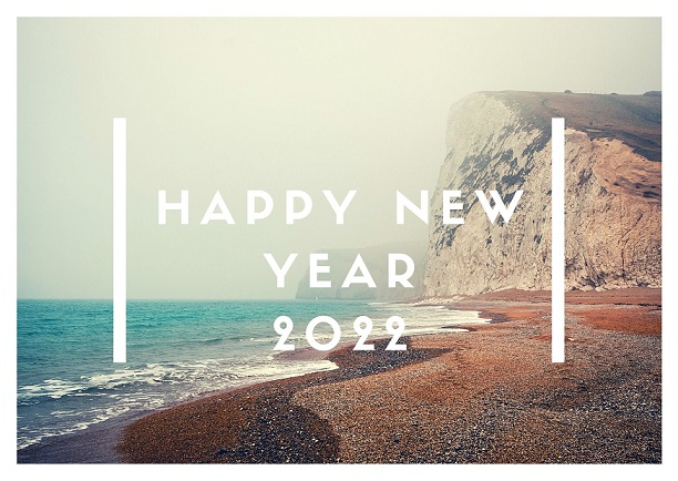 Happy New Year Eve 2022 Greetings Card