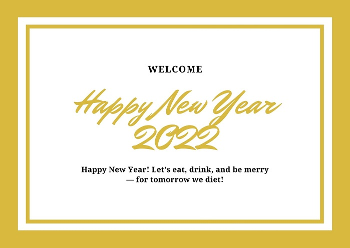 Happy New year 2022 Wishes Image Download