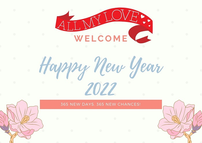 Happy New year 2022 Wishes Image for Instagram