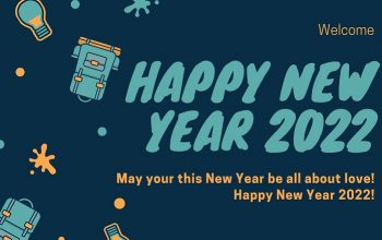 Happy New year 2022 Wishes Image for Whatsapp, Facebook, Instagram