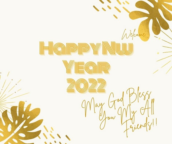 New Year Eve 2022 Greetings Card