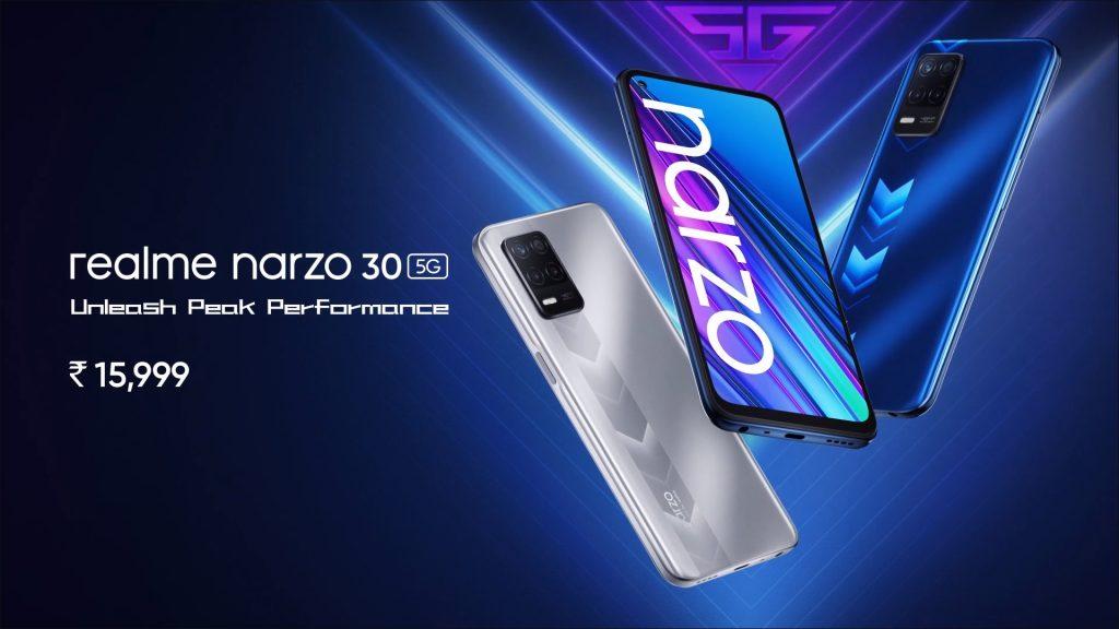 Realme Narzo 30 5G Price in India