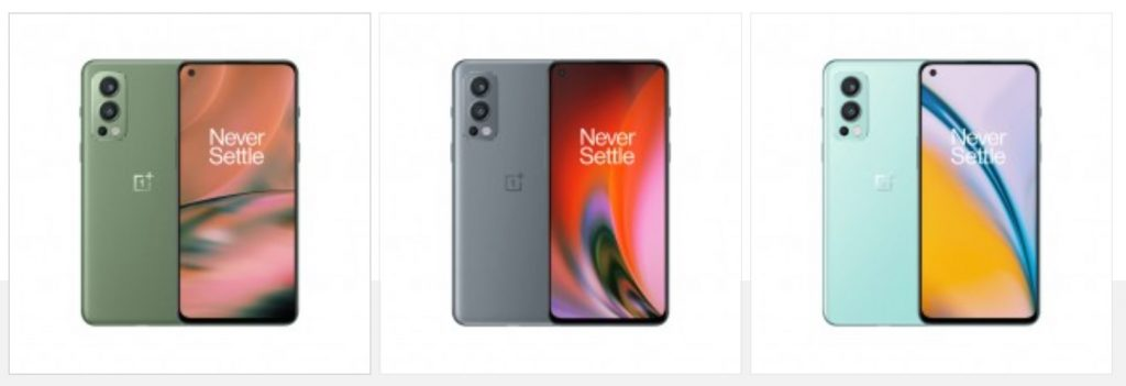 Oneplus Nord 2 Leaks more colors