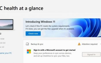 How to check if your PC can run Windows 11 – Check Its system requirement
