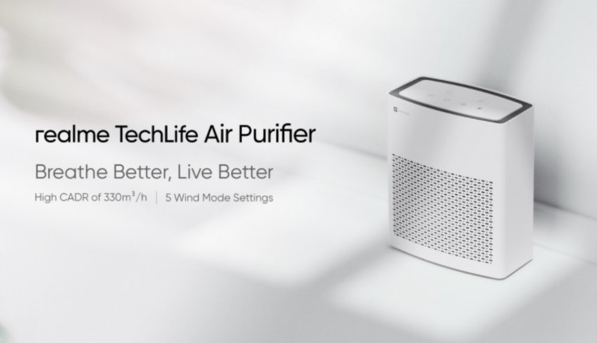 Realme launching Air Purifier next week in India and Price Revealed