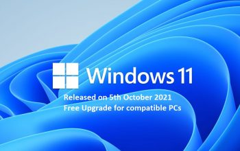 Windows 11 arriving free upgrade officially on 5th october by Microsoft